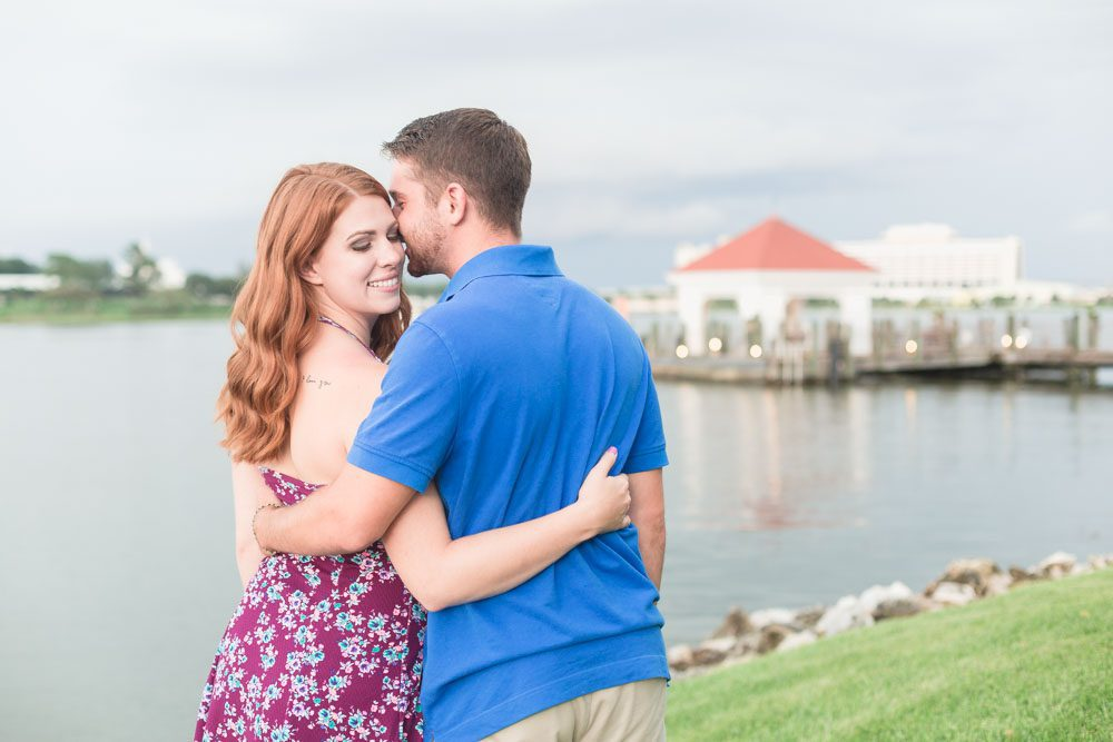 Romantic engagement photography session at the Grand Floridian Disney resort by Orlando top photographer