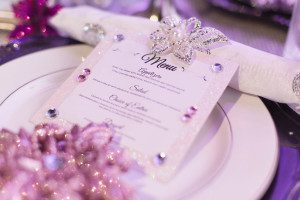 Heaven Event Center wedding photography for purple sparkle Winter theme by top Orlando LGBT Same Sex photographer
