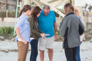 Surprise lesbian proposal on new smyrna beach by top Orlando LGBT same-sex wedding photographer