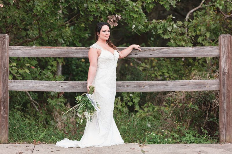 Woody rustic outdoor Bridal portraits for bride to be by top Orlando wedding photographer