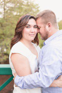 Engagement Photography with a dog Session at a park in downtown Orlando by top Orando wedding photographer