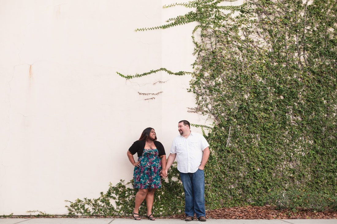 Top Orlando wedding photographer captures fun engagement session at the Hard Rock hotel in Orlando