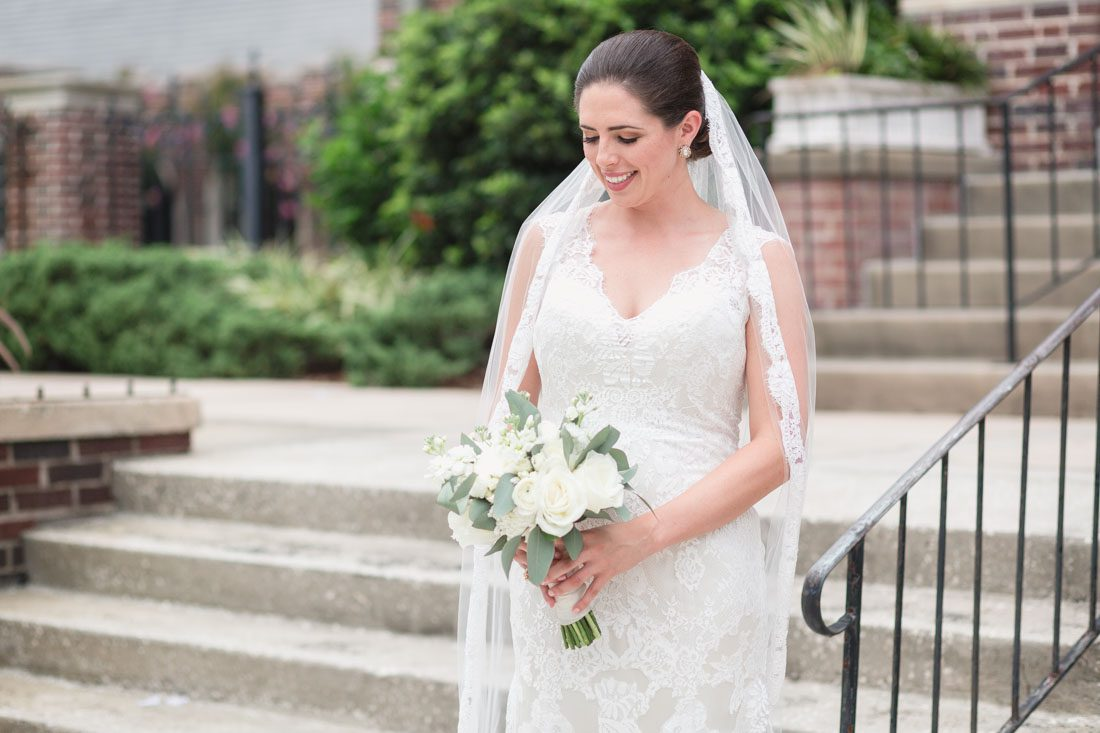 Orlando wedding photographer captures blush pink and gold sequin wedding at historic dubsdread golf course in downtown Orlando