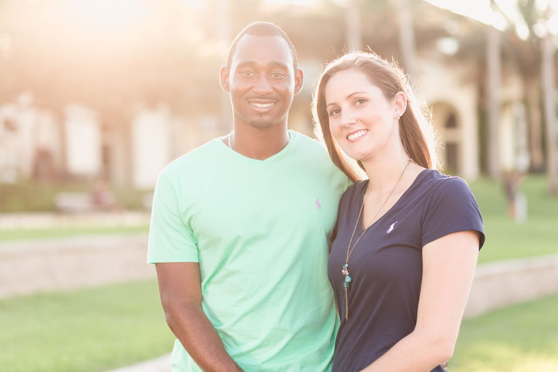 Engagement session photography by top Orlando wedding photographer