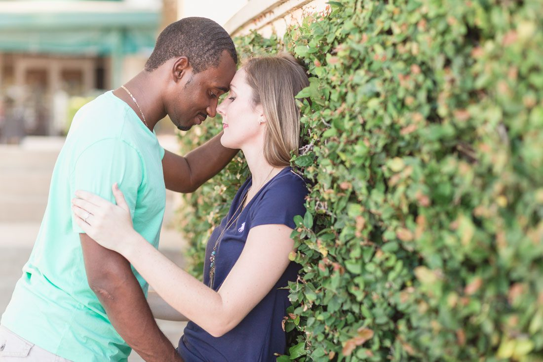 Engagement photography session at Baldwin Park by top Orlando wedding photographer