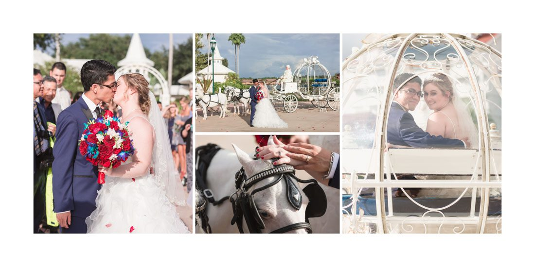Custom wedding album design from top Orlando wedding photographer and videographer