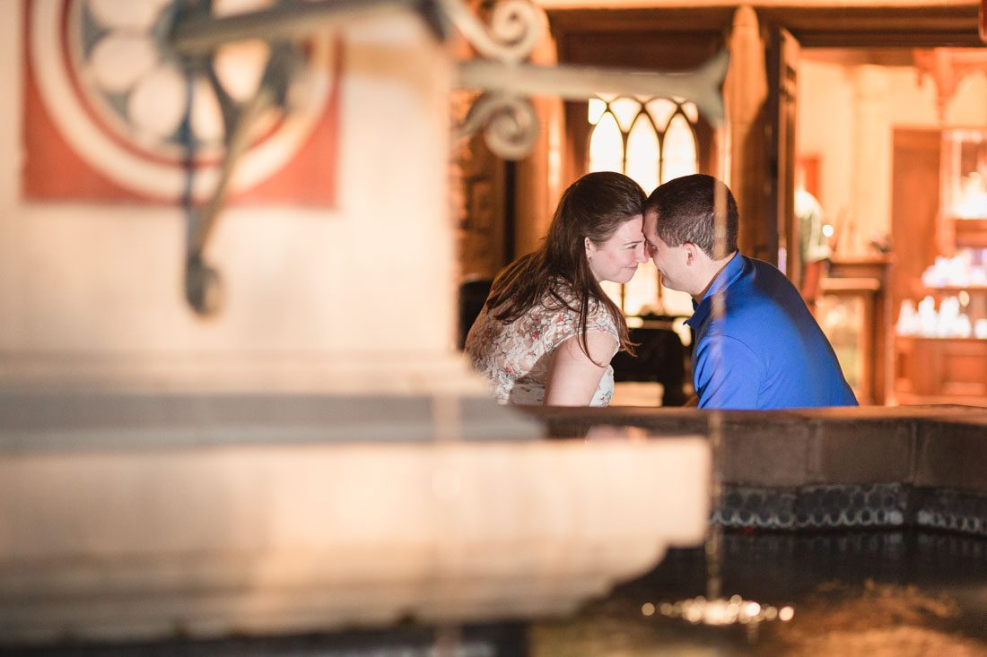 Engagement photography session at Disney Epcot park by top Orlando proposal and wedding photographer