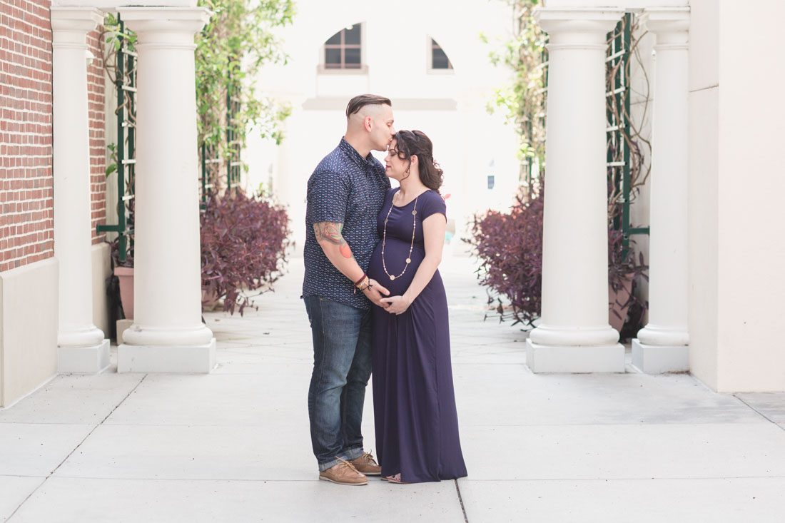 Maternity photography portrait session in Orlando by top wedding and family photographer