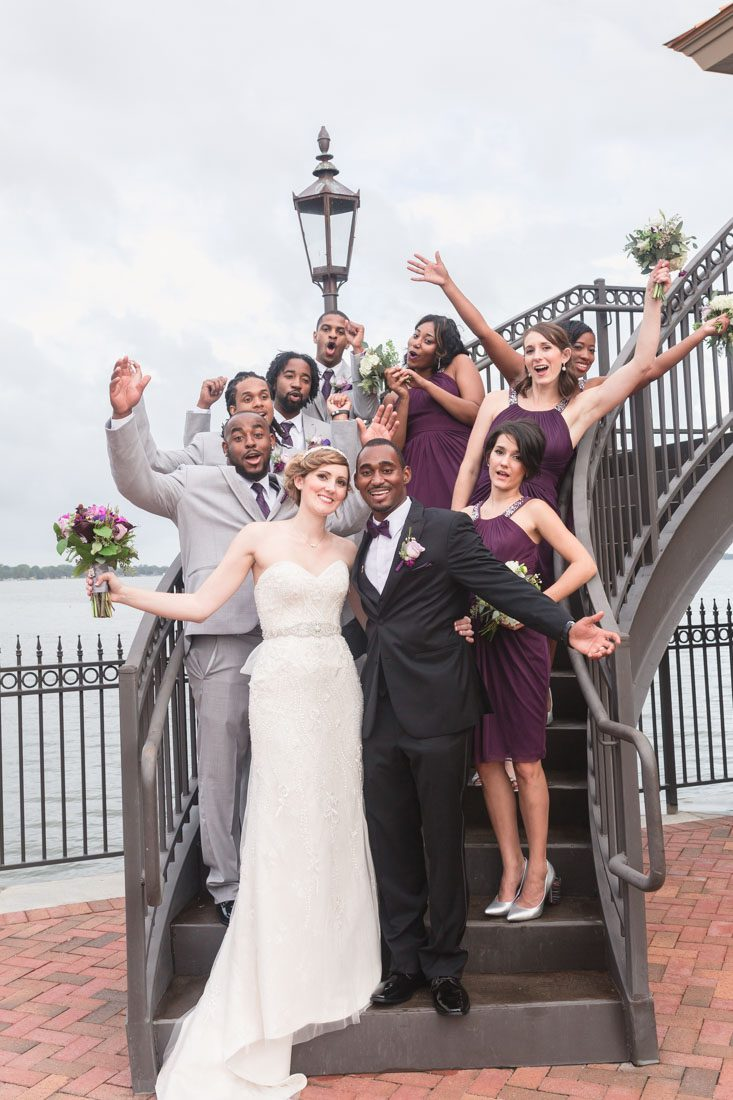 Fun quirky romantic wedding day at the Tavares Pavilion north of Orlando captured by top wedding photographer Captured by Elle