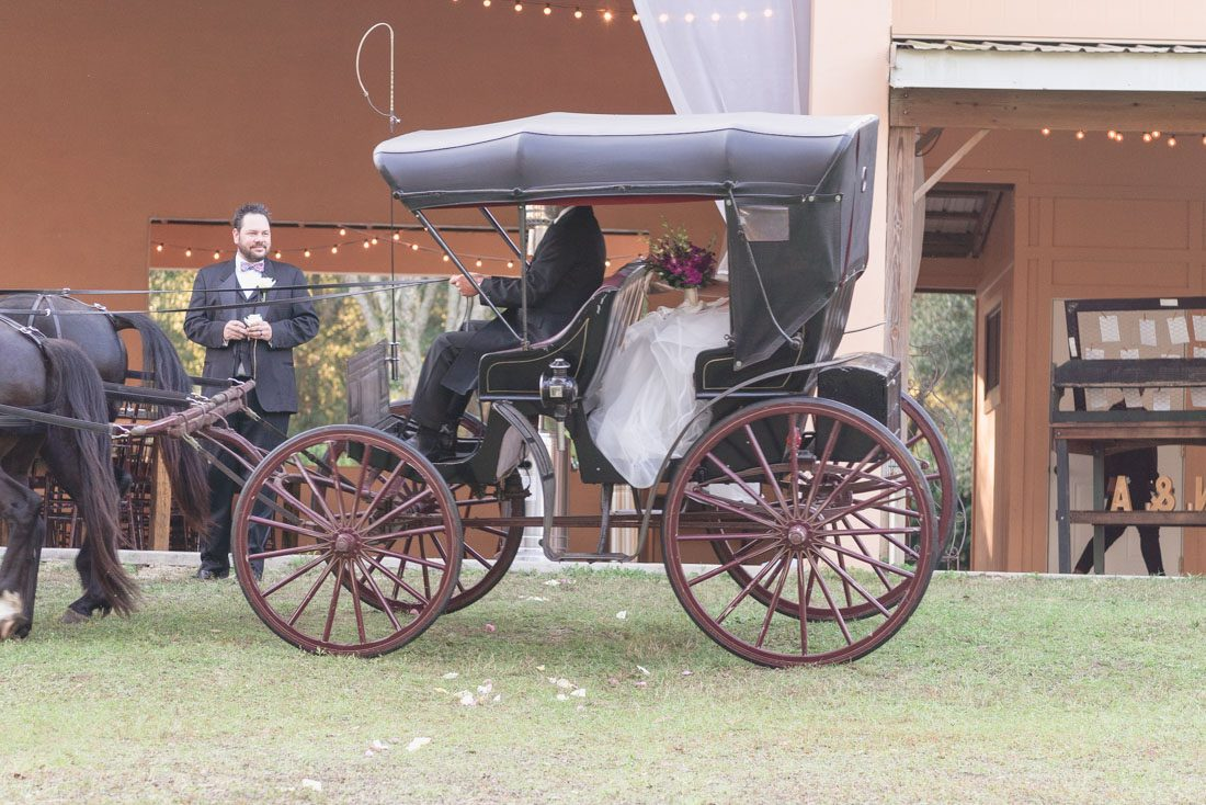 Orlando wedding photographer and videographer captures rustic wedding at the Lakeside ranch in Inverness