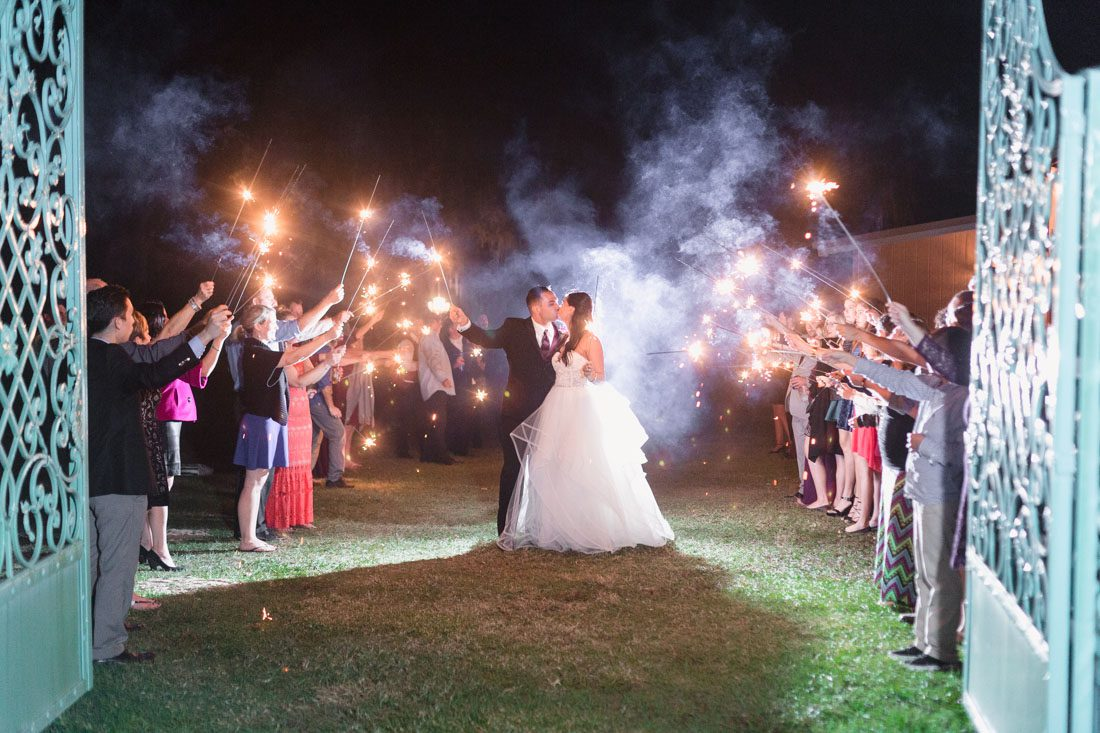 Wedding photography and videography for a romantic outdoor wedding at the Lakeside Ranch in Inverness east of Orlando