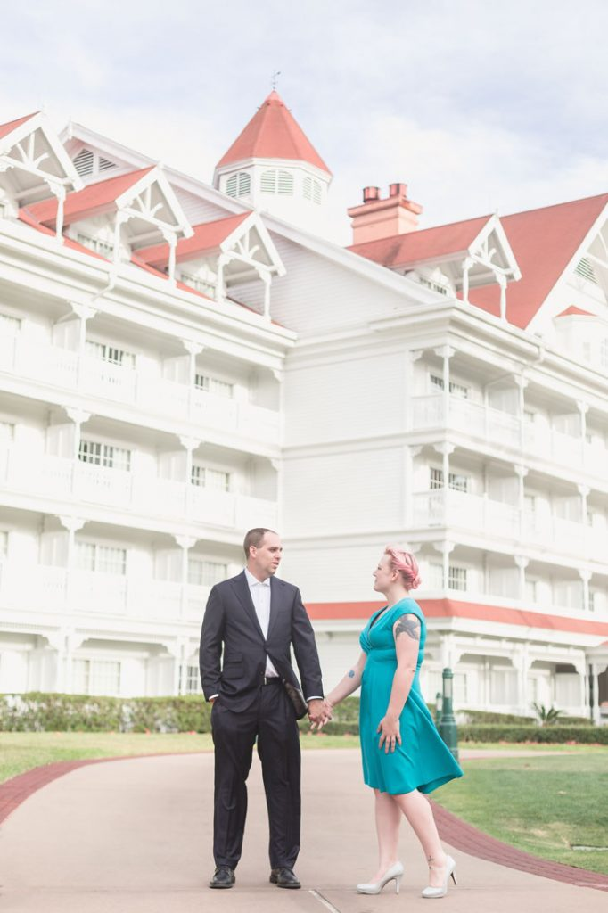 Top Orlando wedding and engagement photographer captures portraits after the surprise proposal