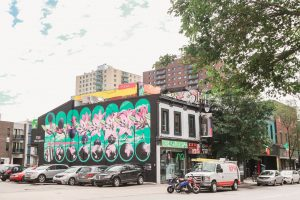 Incredible wall murals in Montreal Canada captured by top Orlando photographer during her travels