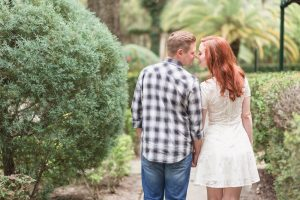 Romantic and candid photojournalistic style engagement session captured by top Orlando wedding photographer in Winter Park Florida