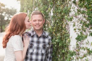 Romantic engagement photography session in Winter Park north of Orlando by top photographer
