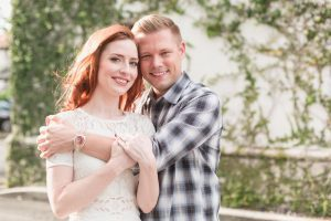 Winter Park, Florida engagement photography shoot captured by top Orlando wedding photographer in Hannibal Square