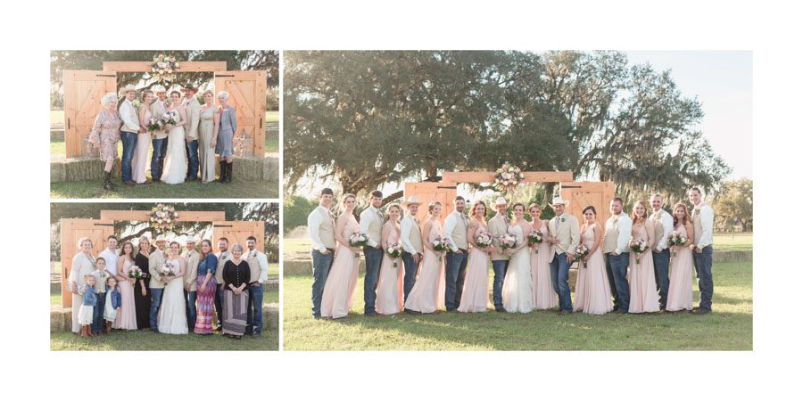 Orlando wedding photography album design in custom leather handcrafted in the US