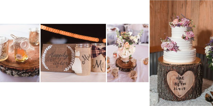 Wedding photographer in Orlando shows off a recent wedding album design from a Sumterville wedding