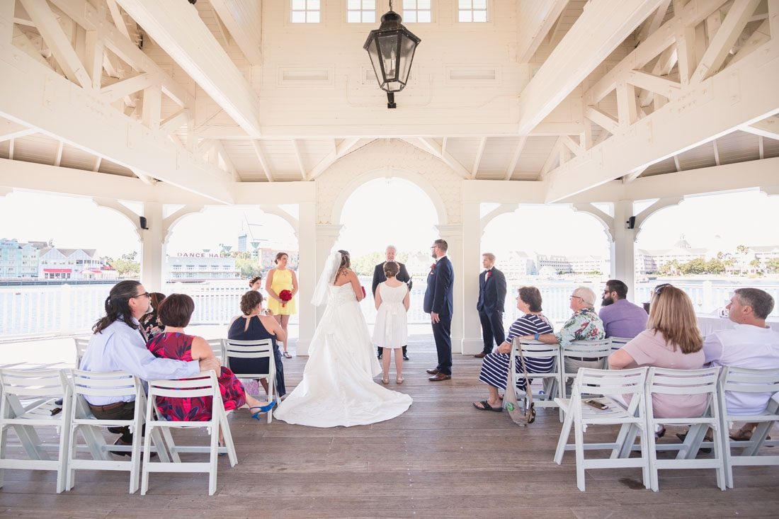 Intimate escape wedding at Disney World in Orlando captured by top wedding photographer in Orlando