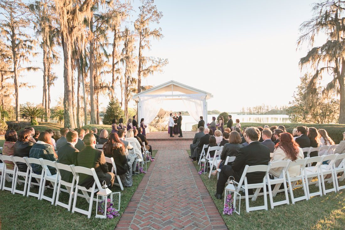 Wedding at Cypress Grove Estate House in downtown Orlando captured by top gay wedding photographer in Orlando