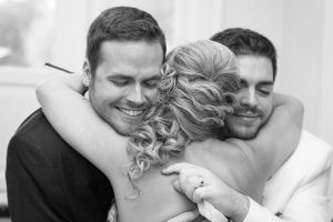 Candid wedding photography at a gay wedding in Orlando captured by top photographers