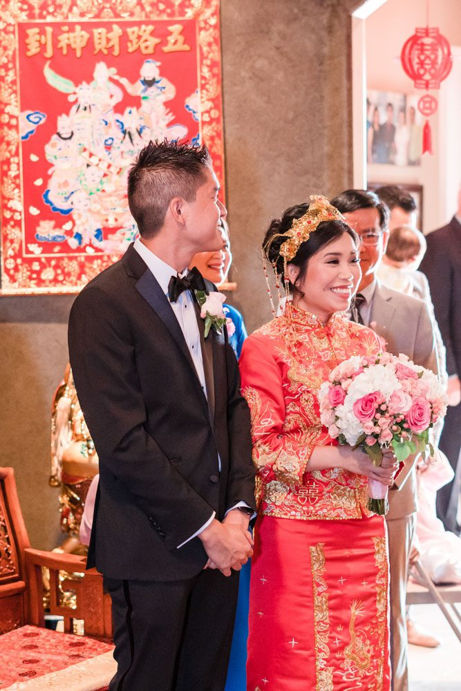 Traditional Asian tea ceremony captured in Oklahoma City by traveling wedding photographers from Orlando